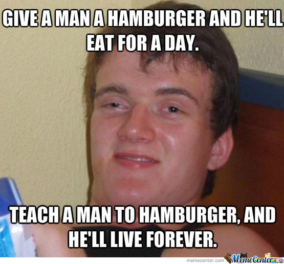 Hamburger Of Life