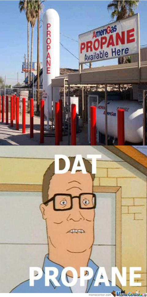 Hank Hill And His Propane