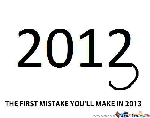 Happens Every Single Year..