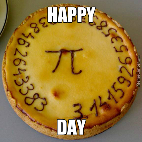 Happy Π-Day (3.14) To All :)