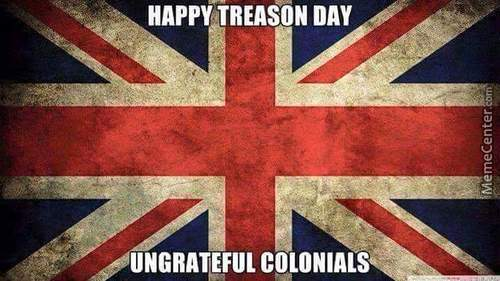 Happy 4Th July - From Uk With Love