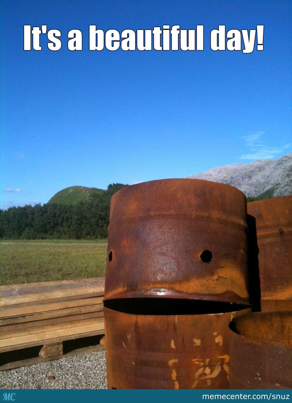 Happy Barrel Is Happy