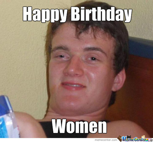 Happy Birth Day Women