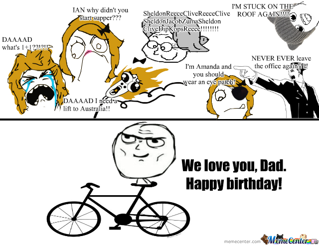 Funny Birthday Meme For Dad : Happy birthday dad by lisabee meme center