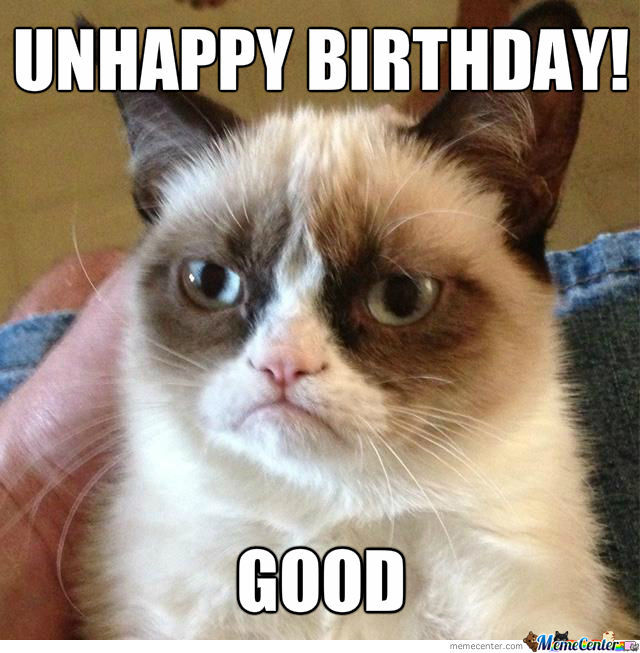 Happy Birthday Grumpy Cat!!