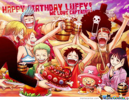 Happy Birthday Luffy