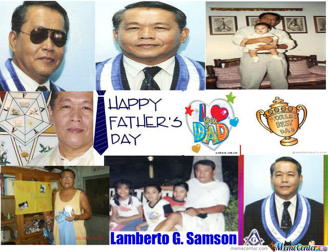 Happy Father's Day Papa! Love You To Death! :))) Xx
