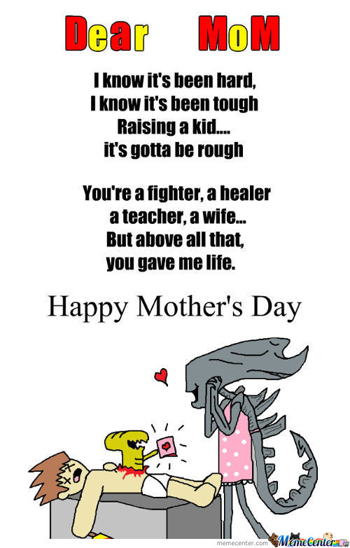 Happy Mother's Day Memecenter!