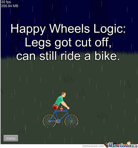 Happy Wheels Logic
