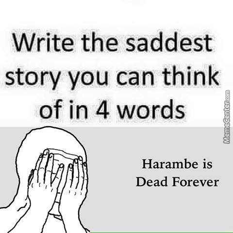 Harambe Come Back