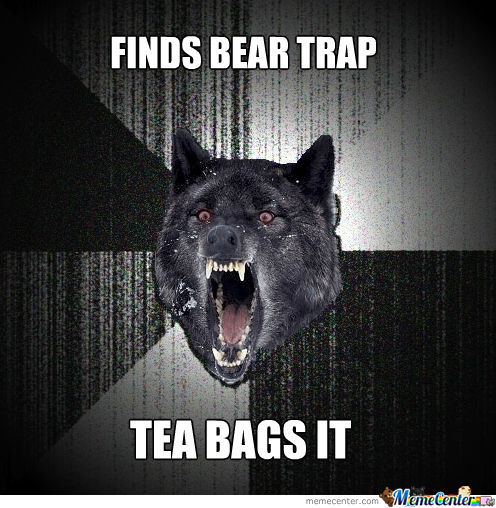 Hardcore Tea Bag!!!