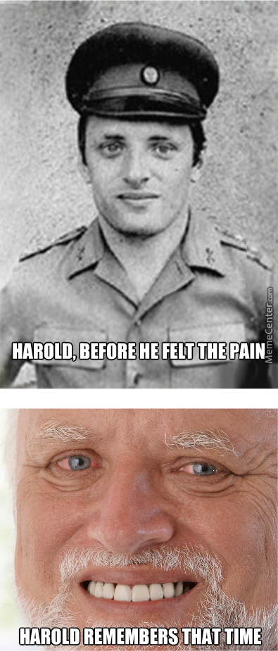 Harold, Before And After