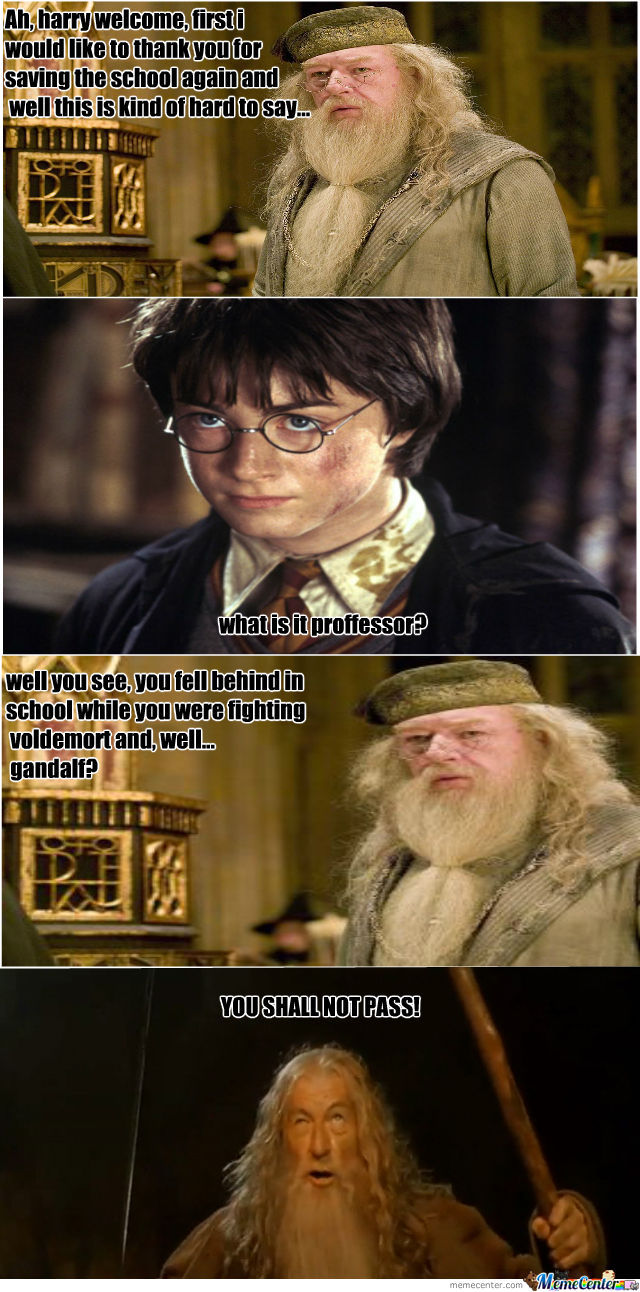 Harry Flunked Potions