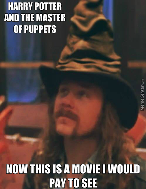 Harry Potter And The Master Of Puppets