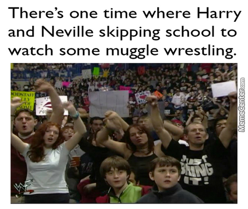 Harry Potter And The Monday Night Raw