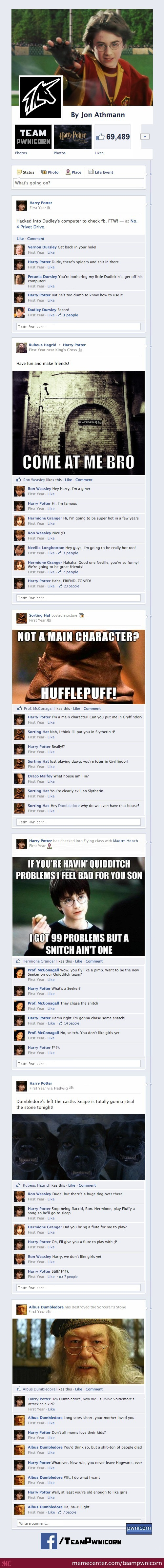 Harry Potter And The Sorcerer's Stone On Facebook