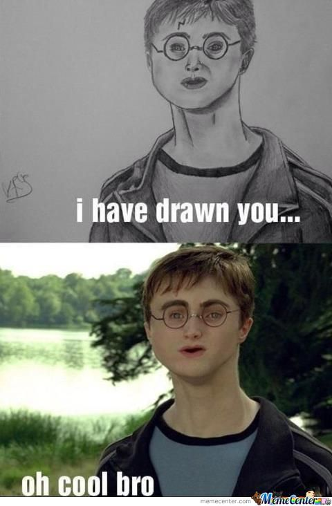 Harry Potter Drawing Fail