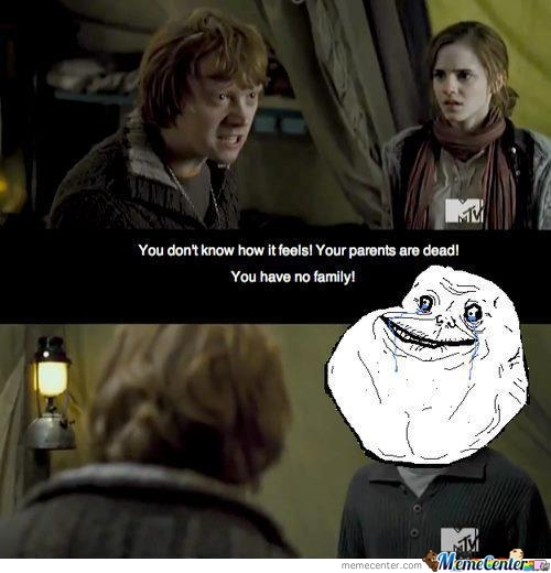 Harry Potter Forever Alone