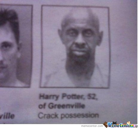 Harry potter's on crack!!!