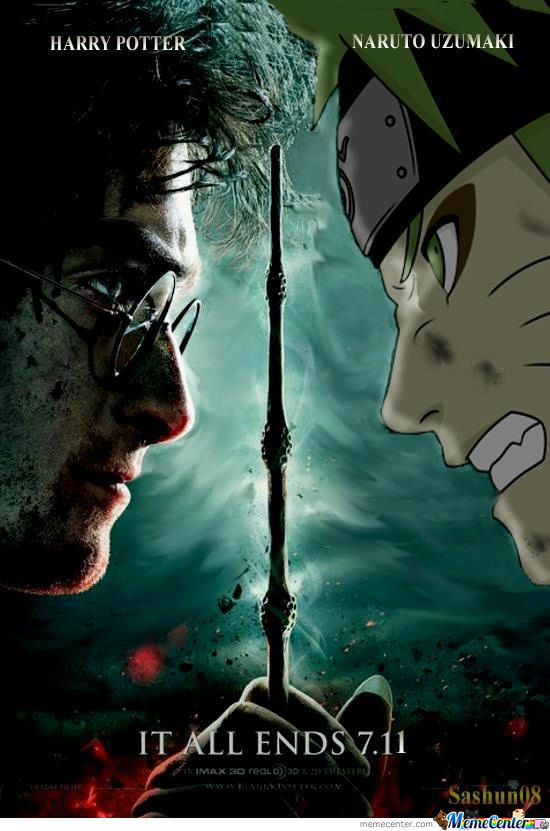 Harry Vs Naruto