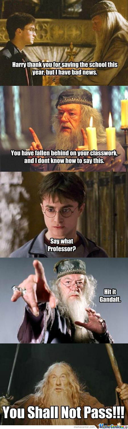Harry, You Shall Not Pass!