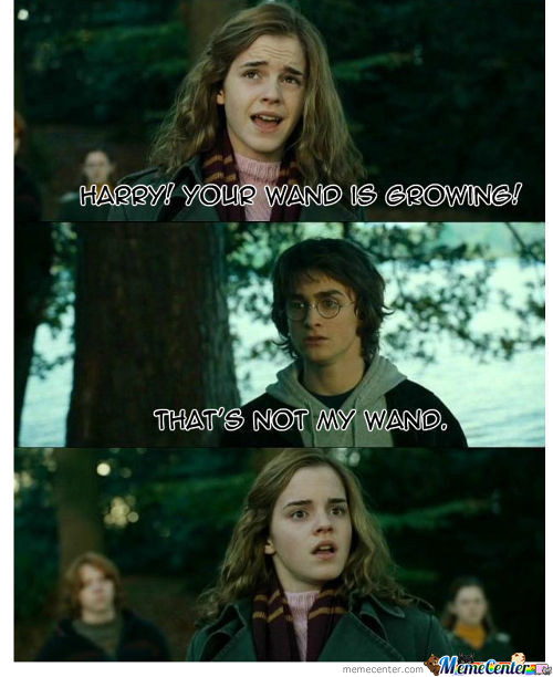 Harry! Your Wand Is Growing!