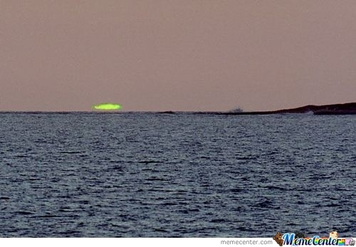 Has Anyone Seen The Green Flash?