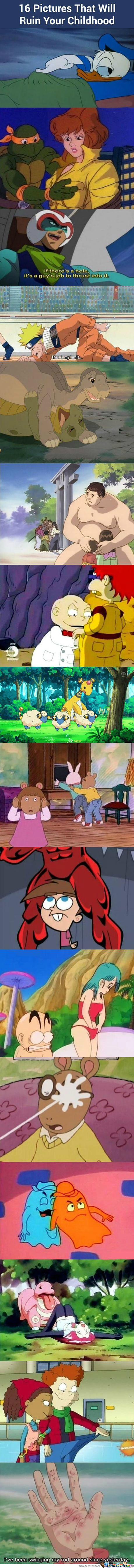 Has Your Childhood Been Ruined Yet?