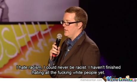 Hating Racism