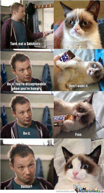 Have A Snickers!