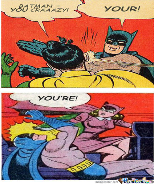 Have A Taste Of Your Own Medicine Batman