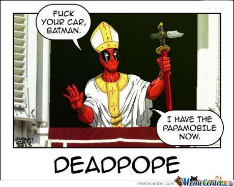 Have Faith In Deadpool