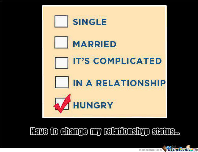 Have To Change My Relationship Status...