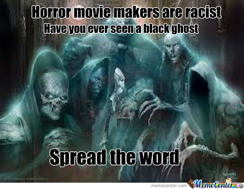 Have You Ever Seen A Black Ghost ?