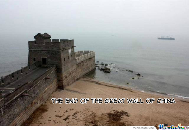 Have You Ever Seen The End Of The Great Wall Of China?!