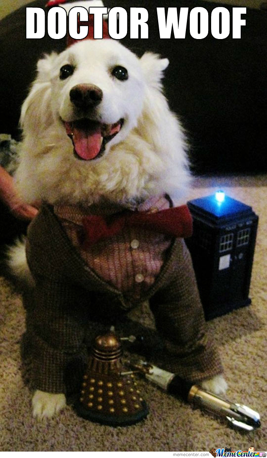 Have You Met Doctor Woof?