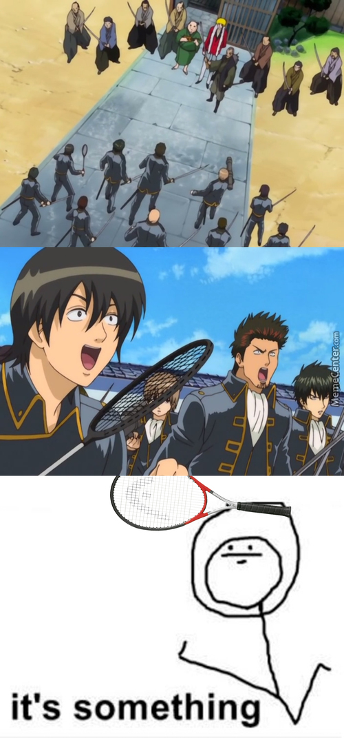 He Could Deflect Grenades [Anime: Gintama (Episode 1)]