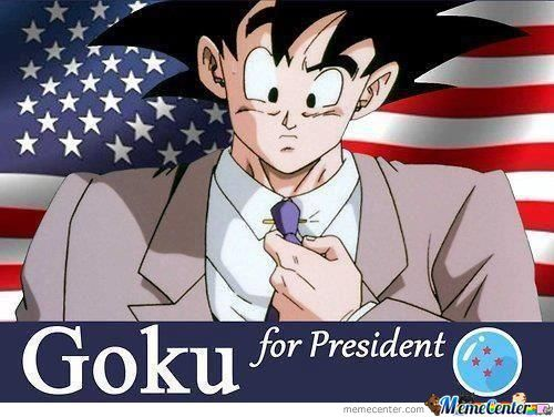 He Has My Vote.