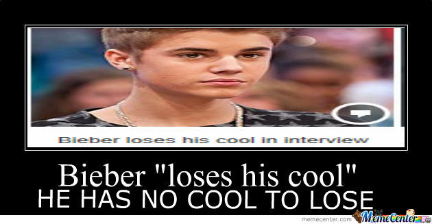 He Has No Cool To Lose