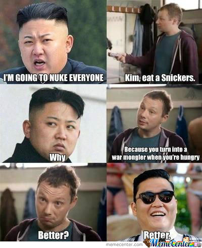 He Just Needs A Snickers.