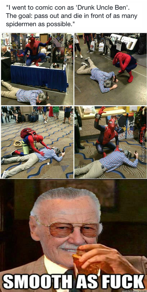 He Made Stan Lee Proud