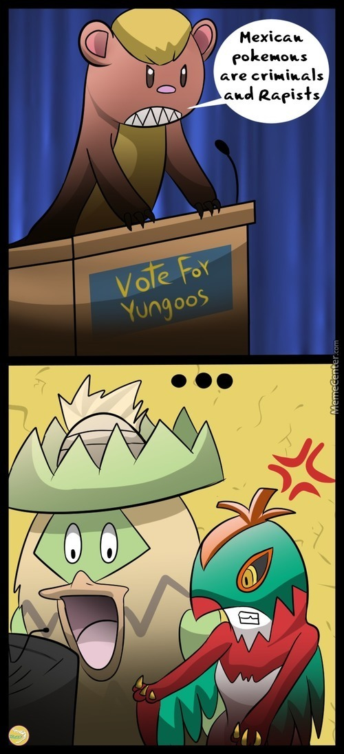 He Want To Make Alola Region Great Again