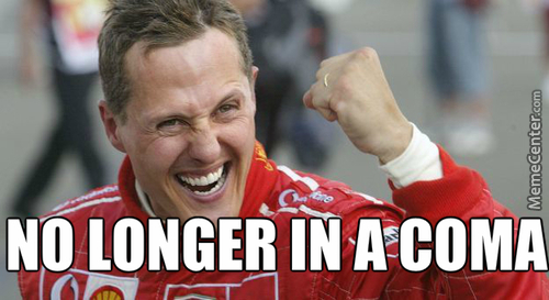 Succes Kid Schumi - He Won Again