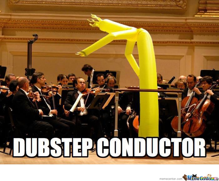 He Would Make A Good Conductor.
