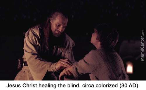 Healed The Blind He Did, But Not In The Council He Is