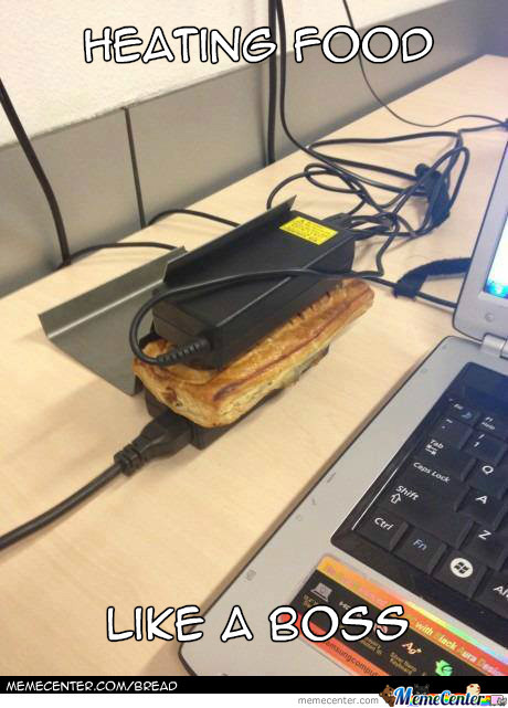 Heating Food Level : Laptop Charger