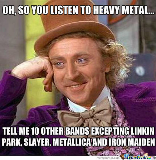 Heavy Metal Posers