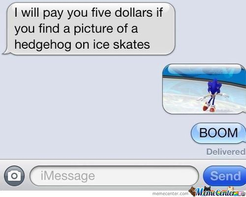 Hedgehog On Ice Skates.