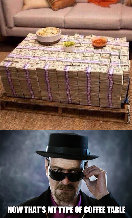 Heisenberg's Coffee Table