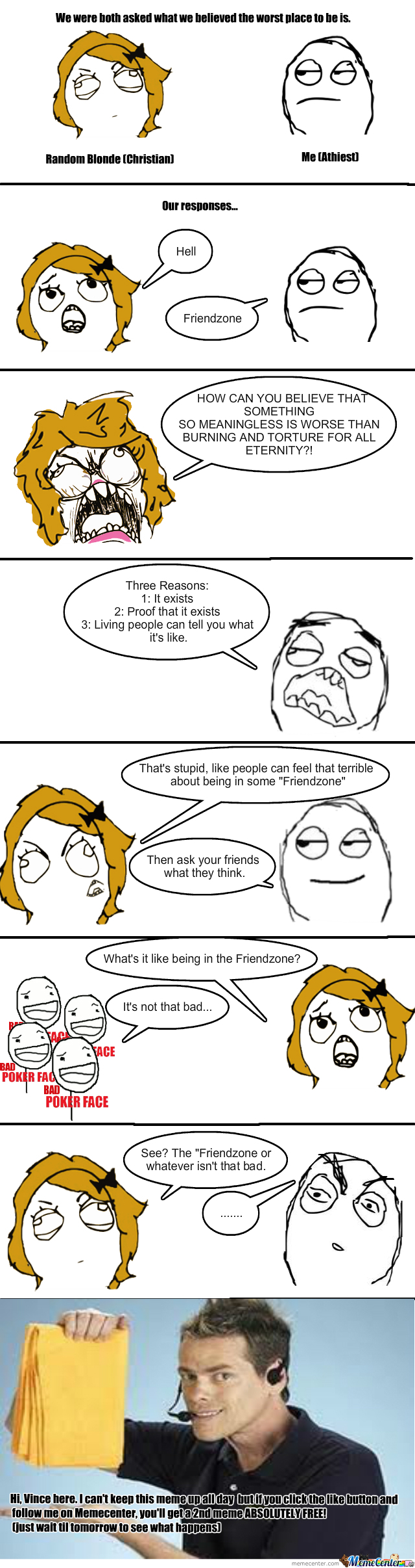 Hell Vs Friendzone